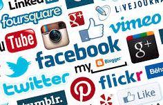 social media logos cropped